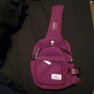 New Purple sling bag